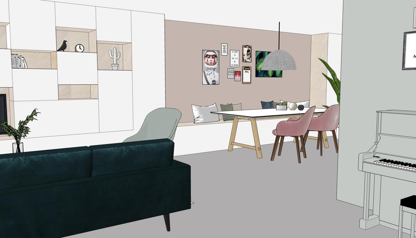 JaimyInterieur - ontwerp eetkamer -2