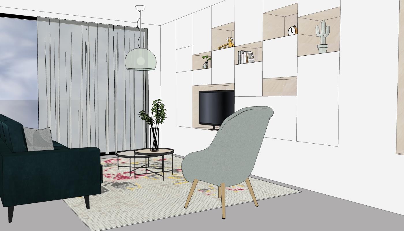JaimyInterieur - ontwerp woonkamer -1