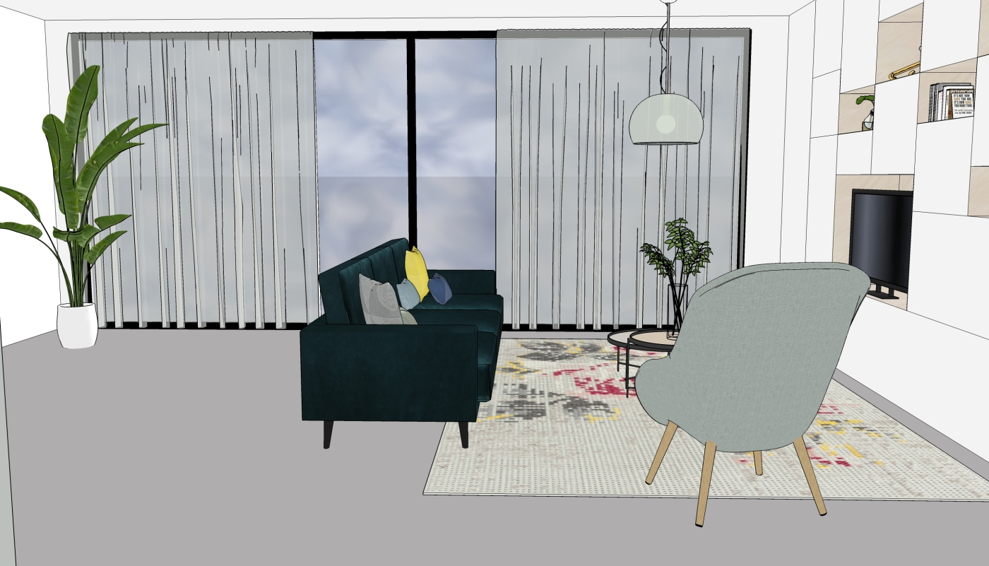 JaimyInterieur - ontwerp woonkamer